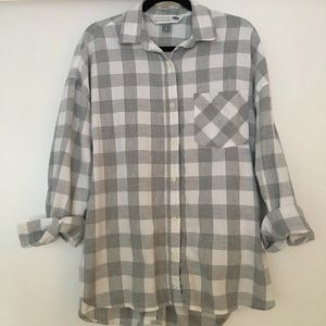 Old Navy flannel tunic